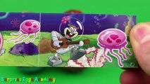 Surprise Eggs Opening - Crocodile Gena and Cheburashka, Angry Birds, SpongeBob SquarePants