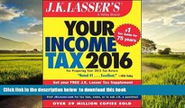 Best Price J.K. Lasser Institute J.K. Lasser s Your Income Tax 2016: For Preparing Your 2015 Tax