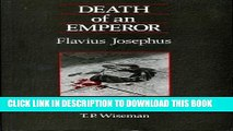 Books Death of an Emperor: Flavius Josephus (University of Exeter Press - Exeter Studies in
