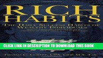[PDF] Rich Habits - The Daily Success Habits of Wealthy Individuals Popular Colection