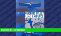 FAVORIT BOOK Forensic Analysis: Weighing Bullet Lead Evidence National Research Council BOOOK ONLINE
