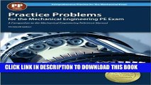 KINDLE Practice Problems for the Mechanical Engineering PE Exam, 13th Ed (Comprehensive Practice