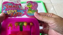 Sevimli bebek banyo oyuncak ❤ ördek ile Bebek bebek banyo zamanı - bebek içme sütü @LifiaTubeHD