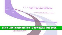 [FREE] Download International Business...Competing In The Global Marketplace (7th Edition) PDF