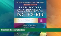 Best Price Lippincott s Q A Review for NCLEX-RN (Lippincott s Review Series) Diane Billings EdD