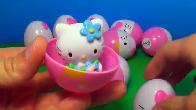 18 Hello Kitty surprise eggs HELLO KITTY HELLO KITTY HELLO KITTY 킨더 서프라이즈