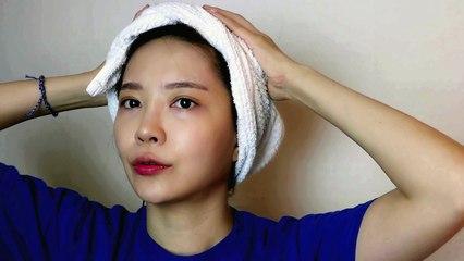 ASMR Korean - 헤어 드라이기로 머리말려요 Relaxing Hair Dryer Sound (Binaural 한국어)