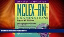 Best Price Lippincott s Review for NCLEX-RN® (Lippincott s Q A Review for NCLEX-RN (W/CD)) Diane
