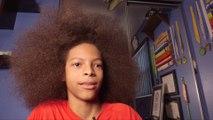 Plus grosse touffe de cheveux du monde à 13 ans seulement ! Record du monde