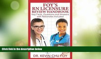 Best Price Foy s RN Licensure Review Handbook Dr Kevin Chu Foy PDF