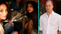 Prince Harry's Girlfriend Meghan Markle Enjoys Night Out as William Denies Relationship Disapproval
