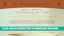 [PDF] In Search of Lost Time: Proust 6-pack (Proust Complete) Full Online