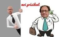 moi president de la république  ★ parodie google ★ François Hollande Elysée Paris champ Elysée france débat sarkozy