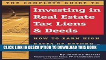[READ] Kindle The Complete Guide to Investing in Real Estate Tax Liens   Deeds: How to Earn High
