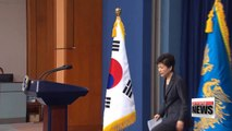 President Park's lawyer rejects to in-person questioning by prosecution as Park must prep measures on current crisis