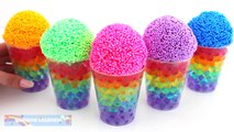 Rainbow Orbeez and Foam Clay Surprise Cups MLP LPS RainbowLearning