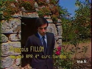 François FILLON benjamin de l'Assemblée Nationale (1981)