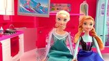 Vacances au camping avec Elsa et Anna – Des Marchmallows au feu de camps Story