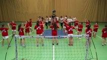 Concours FLASHMOB UNSS Championnat du monde de HANDBALL 2017 Association Sportive  du Collège VAL de MODER