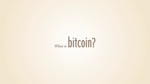 What is Bitcoin (Version 1)
