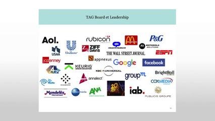 [COLLOQUE 2016] Keynote Trustworthy Accountability Group (TAG) - Augmenter la transparence dans la chaîne de distribution du Digital Advertising ! #ConsumerFirst