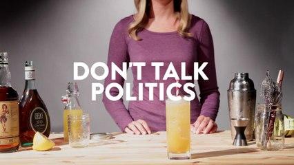 Don't Talk Politics Drink Recipe