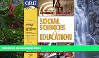 Online Ets Social Sciences   Education (Directory of Graduate Programs: Vol. C: Social Sciences,