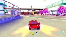 DisneyCARS | CARS 2 : Lightning McQueen Battle Race Gameplay (Disney Pixar Cars)