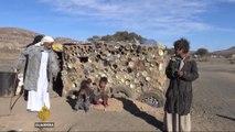 Civilians struggle to survive harsh winter in Yemen war