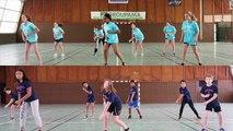 Concours FLASHMOB UNSS Championnat du monde de Handball 2017 - AS collège G.HUET
