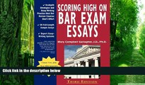 Price Scoring High on Bar Exam Essays: In-Depth Strategies and Essay-Writing That Bar Review