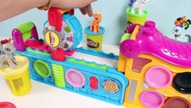 Play Doh Fun Factory Play Doh Mega Fun Factory Machine Playdough Hasbro Toy Videos