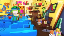 Team Umizoomi Five Little Monkeys Jumping on the Bed - 5 Little Monkeys Nursery Rhyme Song for Kids