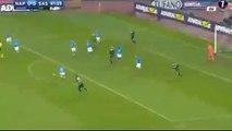 Lorenzo Insigne Amazing Goal HD - Napoli 1-0 Sassuolo - 28-11-2016