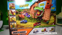 Matchbox Mission Croc Escape MBX Explorer and Disney Cars Try to Get the Gold!!!