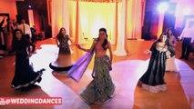 Desi Wedding Celebration Bride Dance