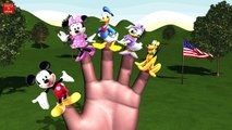 MICKEY MOUSE SYRINGE CAR Finger Family & MORE | Nursery Rhymes for Children | 3D Animation