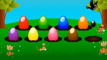Colors for Children to Learn with Surprise Eggs - Colours for Kids to Learn - Kids Learning Videos