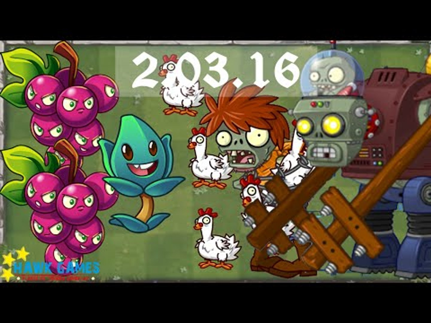 Plants vs. Zombies 2 - Piñata Party (March, 2 2016) [4K 60FPS]