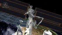 Dextre tests NASA's International Space Station Robotic External Leak Locator (IRELL) - Animation - HD