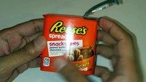My Baby reviews Reeses & Hersheys spread Snacksters