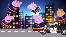 Peppa Pig Superman Finger Family - Pepa Pig superman finger family nursery rhymes and more lyric