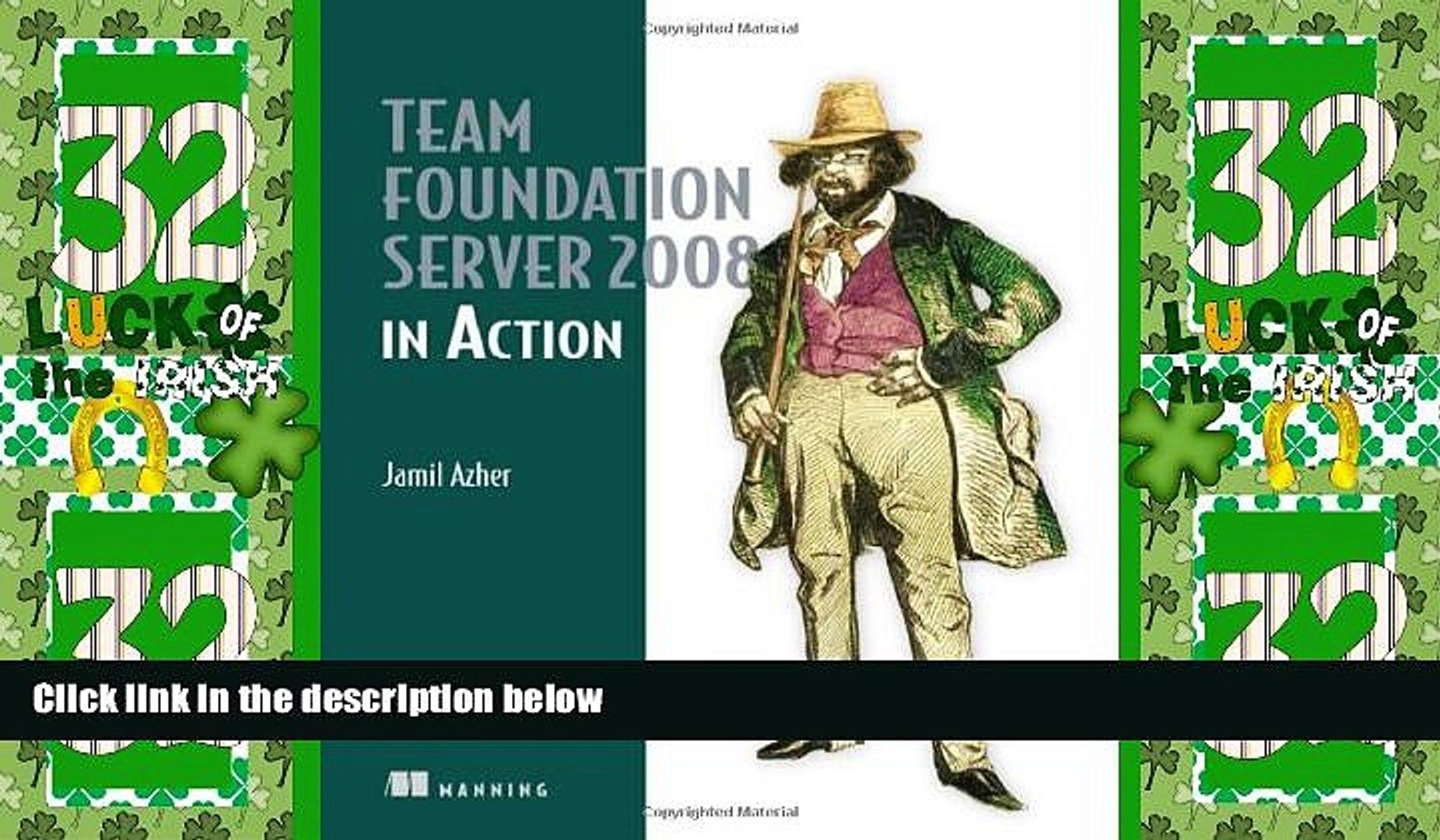 Best Price Team Foundation Server 2008 in Action Jamil Azher For Kindle