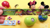 Opening Surprise Egg (Mickey Mouse + Superheroes) Eggs Filled With Toys, Candy, and Fun!