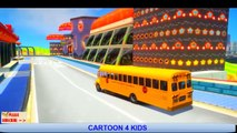 Lightning McQueen Color Spiderman & Esla cartoon action cars-Nursery Rhymes McQueen Songs for Kids