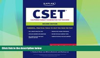 Price Kaplan CSET: California Subject Examination for Teachers (Kaplan Cset: The California