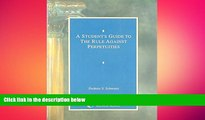 READ book  A Student s Guide to the Rule Against Perpetuities  FREE BOOOK ONLINE
