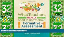 Price What Teachers Really Need to Know About Formative Assessment Laura Greenstein For Kindle
