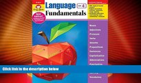 Best Price Language Fundamentals, Grade 4 (Language Fundamentals: Common Core Edition) Evan-Moor