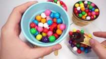 Clay Slime Surprise Toys Learn Colors + Playfoam Ice Cream Toy DIY Compliation Video
